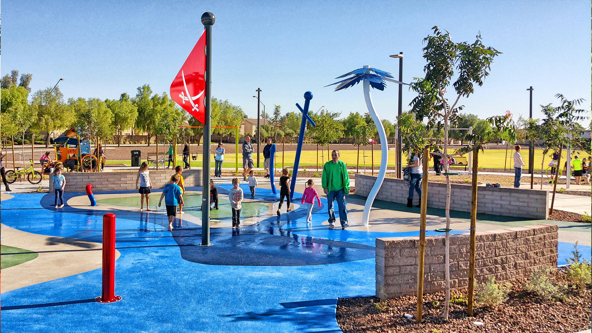 Surprise Farms Park Splash Pad