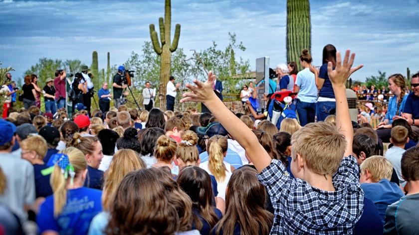 Desert Arroyo Park grand opening