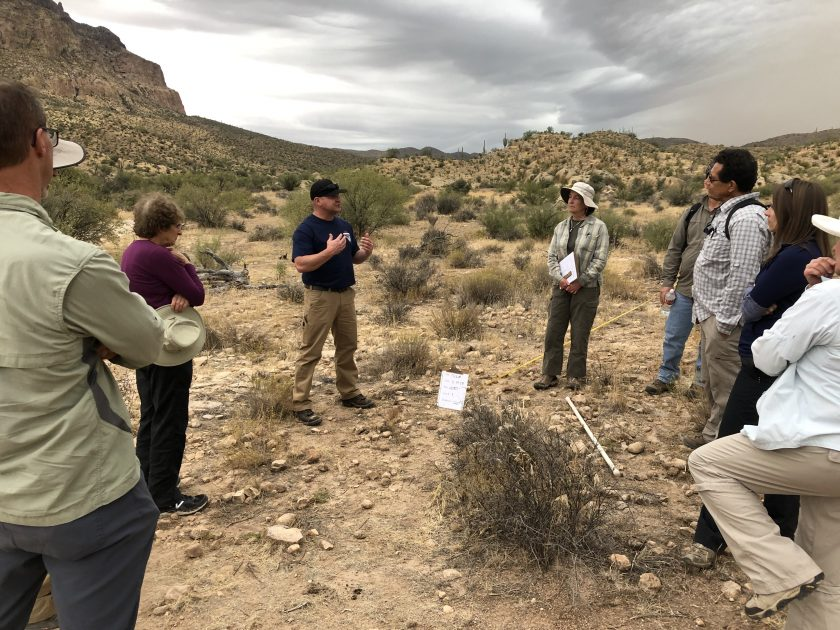 Resource and trail experts apply NSHT methodology in the field.